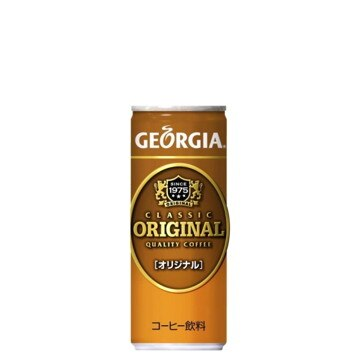 コカ・コーラボトラーズ ジョージアオリジナル 250g×120本 40681