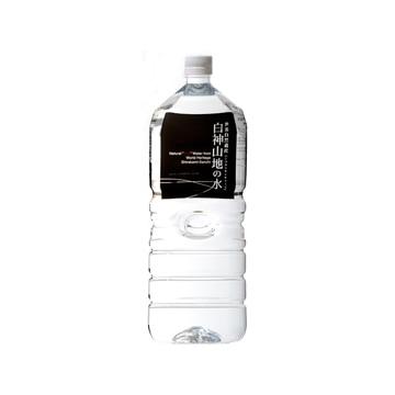 白神山美水館 (青森)白神山地の水 2L 6本入