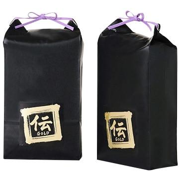 伝 【新潟】新潟産植酸栽培コシヒカリ「伝GOLD」2kg×2個