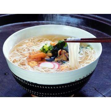 坂利製麺所 【奈良】お湯かけにゅう麺詰め合せ 6食