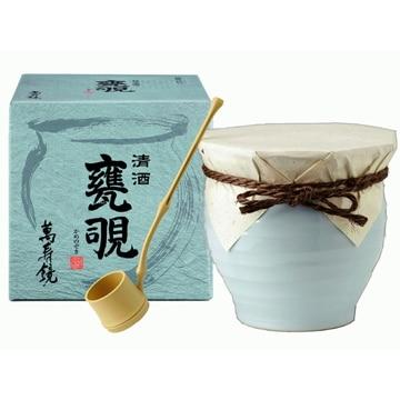 マスカガミ 【新潟】越後の地酒 萬寿鏡 甕覗