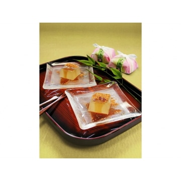 坂利製麺所 【奈良】吉野の葛餅風呂敷包み