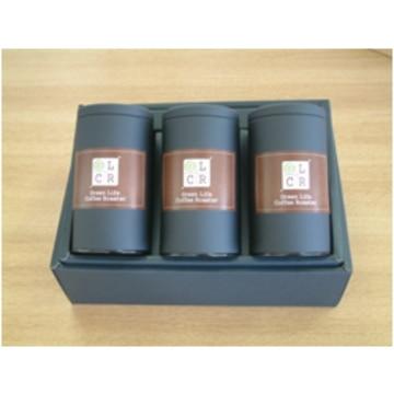 グリーンライフコーヒーロースター (宮城)ブルーマウンテンコーヒーギフト(3種各100g)