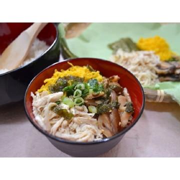 豆乃屋フーズ (鹿児島)さつま地鶏そば本舗風鶏飯2膳×5セット