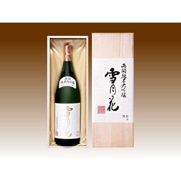 両関酒造 (秋田)純米大吟醸雪月花 1.8リットル