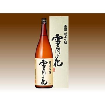 両関酒造 【秋田】純米吟醸雪月花 1.8リットル