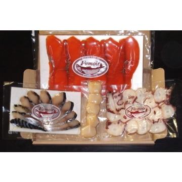 【送料無料】フュ—モアール (北海道)オホーツク海海産物燻製 Aセット