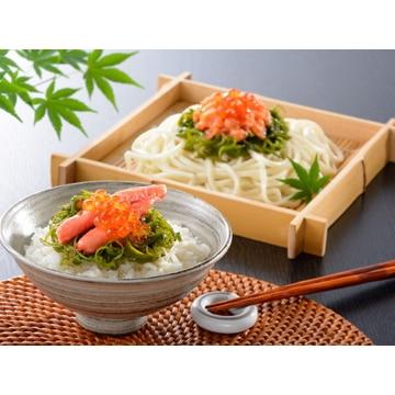 小樽海洋水産 【北海道】小樽/海鮮ぶっかけ丼8個(かに・サーモン)(492)