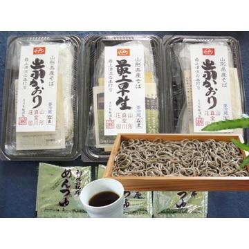庄司製麺 (山形)こだわりの山形そば 生麺コース