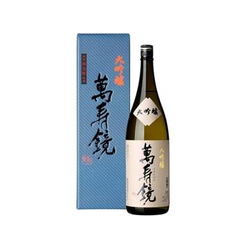 マスカガミ 【新潟】越後の地酒 大吟醸 萬寿鏡1.8L