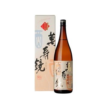 マスカガミ 【新潟】越後の地酒 萬寿鏡 純米吟醸じぶんどき 1.8L