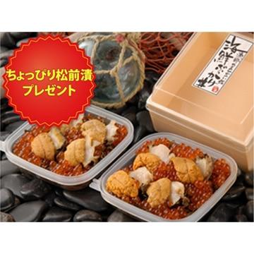 栄屋 【北海道】海鮮ぶっかけ丼(うにあわびいくら)