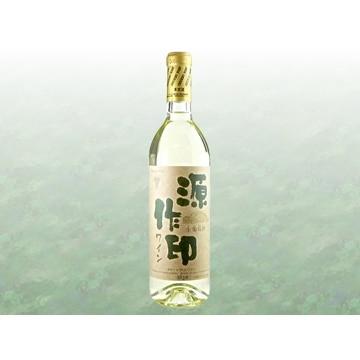 秩父ワイン 【埼玉】国産ワインコンクール受賞 秩父ワイン 源作印 720ml 白