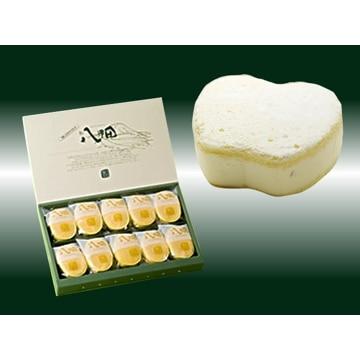 青森ふるさとショップアイモリー (青森)青森の人気チーズケーキ 朝の八甲田2種セット(クリームチーズ&カマンベール)