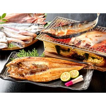 小樽海洋水産 【北海道】北海道産一夜干し詰合せ NO719