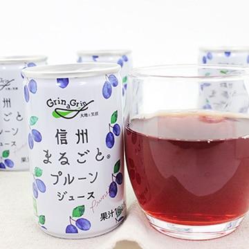 長野興農 (長野)信州まるごとプルーンジュース30缶