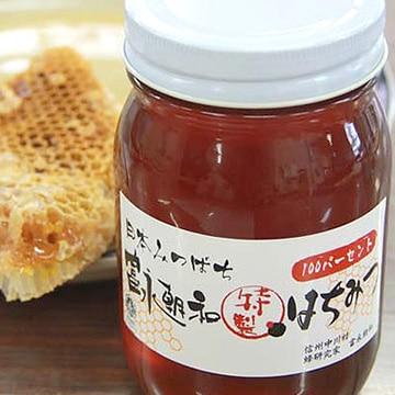 中川はちみつ工房 (長野)日本ミツバチのはちみつ 富永朝和 [特製] はちみつ 300g