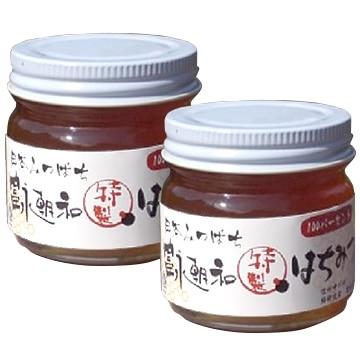 中川はちみつ工房 (長野)日本ミツバチのはちみつ 富永朝和 [特製] はちみつ 100g×2個