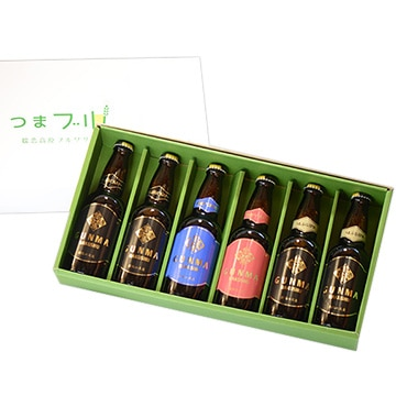 浅間高原麦酒 【群馬】群馬麦酒6本セット(330ml×6)