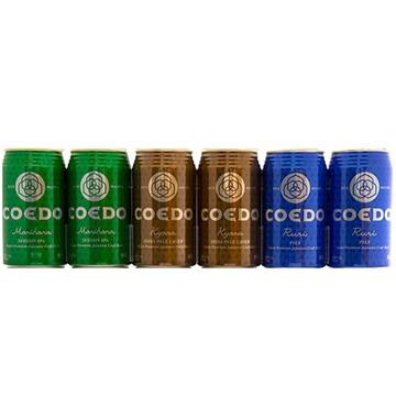 コンタツ (埼玉)COEDO缶ビール飲み比べセット6本