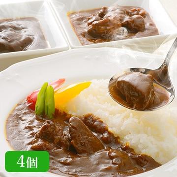 米沢牛黄木 お肉屋さんの黒毛和牛カレー3種セット(4個入り) TW3050243363