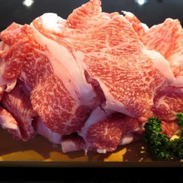 食肉の店福田屋 信州産黒毛和牛切り落し400g TW2080183564