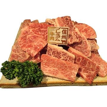食肉の店福田屋 【長野】信州プレミアム牛肩ロース(焼肉用)600g TW2080183568