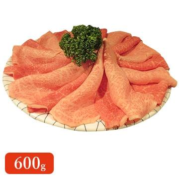 食肉の店福田屋 【長野】信州プレミアム牛もも(すき焼 しゃぶしゃぶ)600g TW2080183570