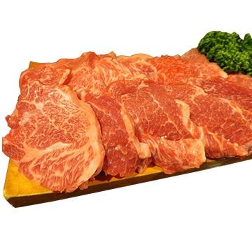 食肉の店福田屋 【長野】信州プレミアム牛もも(焼肉用)400g TW2080183571