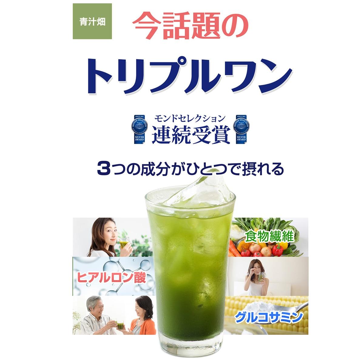 進風 青汁畑4箱(120包) TW4010263640
