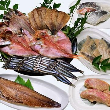 三角屋水産(KGF) 【静岡】おいしい魚を西伊豆から直送!干物・漬け魚ボリュームセット TW5010993516