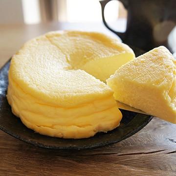 めんこい製菓 (岩手)黄金たまごのチーズケーキ(4号×2個) TW1010104092