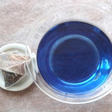 アイアカネ工房 藍の青いお茶ティーバッグ 小