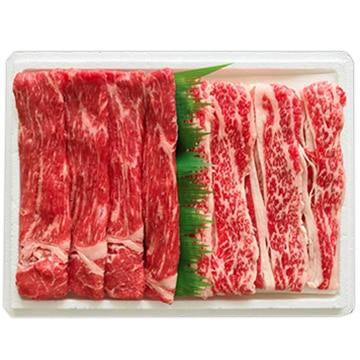 高橋畜産食肉 (山形)蔵王牛すき焼セット500g(バラ/赤身) TW3050244269
