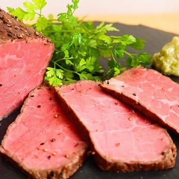 高橋畜産食肉 (山形)蔵王牛ローストビーフ詰合せ600g(プレーン・バジル・山椒各200g) TW3050244272