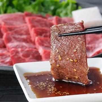 高橋畜産食肉 (山形)蔵王牛 焼肉セット670g(牛バラ370g/赤身300g) TW3050244276