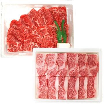 高橋畜産食肉 (山形)蔵王牛 焼肉セット540g(牛バラ280g/赤身260g) TW3050244278