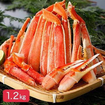 ロイヤルグリーンランドジャパン (東京)冷凍ボイル本ズワイガニ(切りガニ)1.2kg(600g×2)