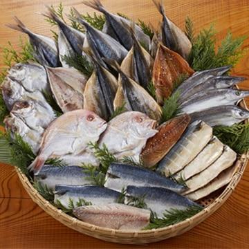 ベアーフーズ水産食品センター (長崎)たっぷり28枚盛り長崎蚊焼干し干物セット