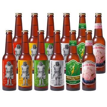 田沢湖ビール (おまけ付)(秋田)6種飲み比べ12本セットなまはげ