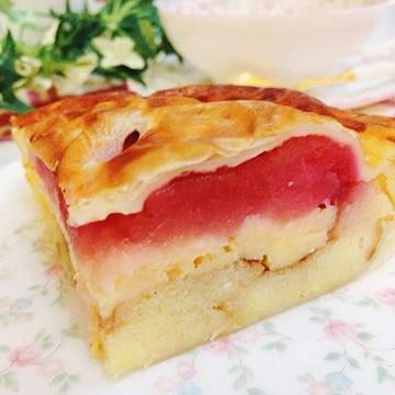 杜のカフェ・シャナ 紅の夢 アップルパイ