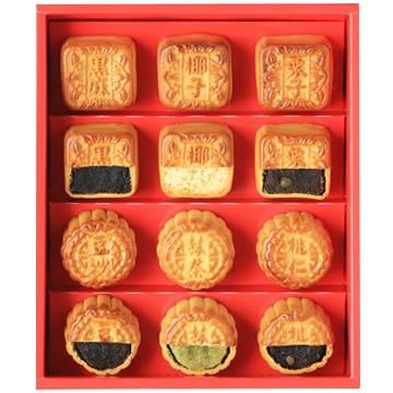 重慶飯店 ミニ月餅6種12個