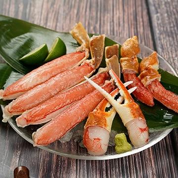 生本ズワイガニ カナダ産 ハーフカット 切り蟹 700g(1パック)
