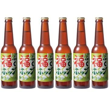 田沢湖ビール (秋田)福ふくホップ Fresh Hop Pale Ale-6本セット