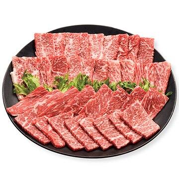 ミヤチク加工品課(ハーモニック) 国産黒毛和牛 焼肉用500gバラ250g モモ250g