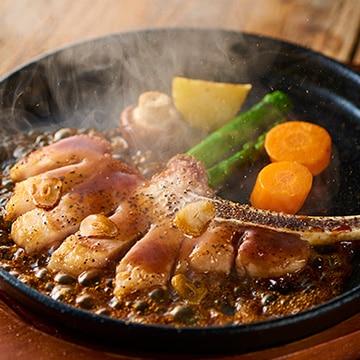 【送料無料】タイシコーポレーション イベリコ豚骨付きロースステーキとトリュフソルト添え
