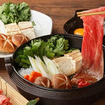 【送料無料】Kanzaki 格之進 熟成肉 すき焼き・しゃぶしゃぶ モモ