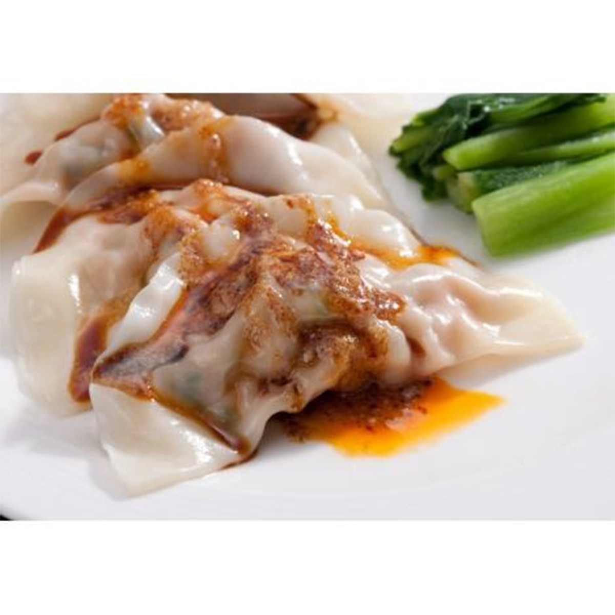 ローラン (遠州浜松 中国料理樓蘭)四川水餃子 24個(12個×2パック)(特製胡麻甘醤油ダレ付き)