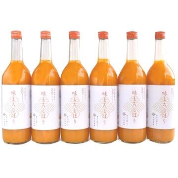 有田みかんジュース味まろしぼり720ml6本セット