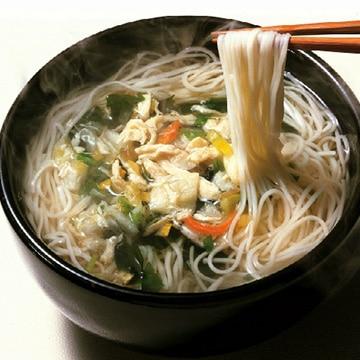 【送料無料】アデリー 坂利製麺所 鳥菜にゅう麺 66g×3袋